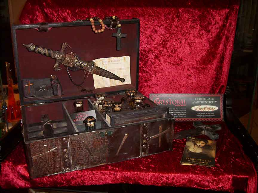 Vampire Killing Kit By Crystobal Christopher Pinto S